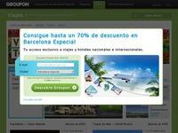 Descuentos exclusivos hasta el 75% en Groupon Viajes