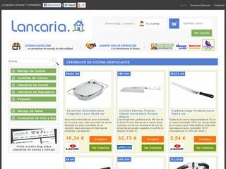 5€ de descuento en Lancaria en compras superiores a 50€